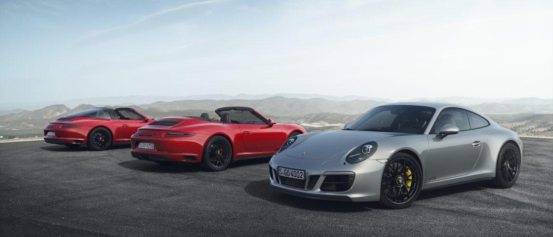 Porsche 911 GTS Launch