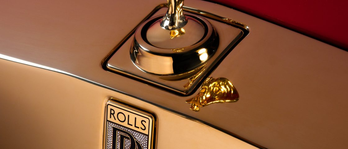 Rolls Royce Gold Phantoms