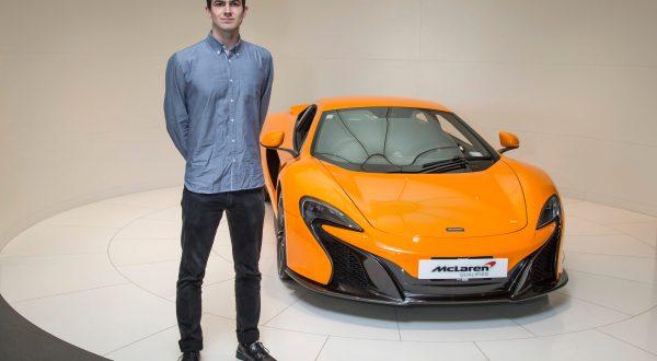McLaren's first ever international internship